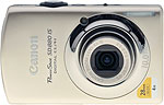 Canon PowerShot SD880 IS digital camera. Copyright © 2009, The Imaging Resource. All rights reserved.