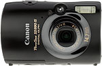 Canon PowerShot SD990 IS digital camera. Copyright © 2009, The Imaging Resource. All rights reserved.