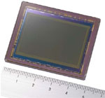 Sony 35mm CMOS Sensor. Courtesy of Sony, with modifications by Zig Weidelich.