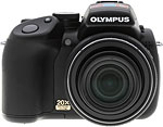 Olympus SP-570 UltraZoom digital camera. Copyright © 2008, The Imaging Resource. All rights reserved.