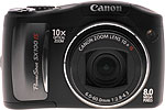 Canon PowerShot SX100 IS digital camera. Copyright © 2007, The Imaging Resource. All rights reserved.