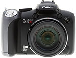 Canon PowerShot SX10 IS digital camera. Copyright © 2009, The Imaging Resource. All rights reserved.