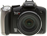 Canon PowerShot SX20 IS digital camera. Copyright © 2010, The Imaging Resource. All rights reserved.