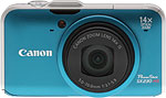 Canon PowerShot SX230 HS digital camera.  Copyright © 2011, The Imaging Resource. All rights reserved.