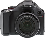 Canon PowerShot SX30 IS digital camera.  Copyright © 2011, The Imaging Resource. All rights reserved.