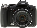 Canon PowerShot SX1 IS digital camera. Copyright © 2009, The Imaging Resource. All rights reserved.