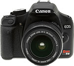 Canon EOS 500D Rebel T1i digital SLR camera. Copyright © 2009, The Imaging Resource. All rights reserved.