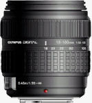 Olympus' Zuiko 18-180mm f3.5-6.3 lens. Courtesy of Olympus, with modifications by Michael R. Tomkins.