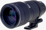 Olympus' Zuiko 35-100mm f2.0 lens. Courtesy of Olympus, with modifications by Michael R. Tomkins.