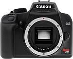 Canon Rebel XS / EOS 1000D digital SLR camera. Copyright © 2008, The Imaging Resource. All rights reserved.