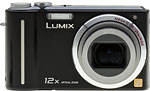 Panasonic Lumix DMC-ZS1 digital camera.