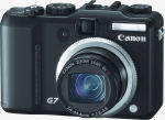 Canon's PowerShot G7 digital camera. Courtesy of Canon, with modifications by Michael R. Tomkins.