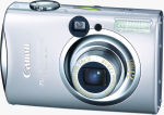 Canon's PowerShot SD800 IS digital camera. Courtesy of Canon, with modifications by Michael R. Tomkins.
