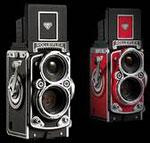 MINOX DCC Rolleiflex AF 5.0 digital camera. Courtesy of Minox, with modifications by Zig Weidelich.