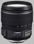 Canon EF-S 15-85mm f/3.5-5.6 IS USM lens.