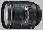 Nikon 24-120mm f/4G ED VR AF-S Nikkor lens.