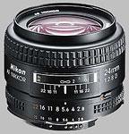 Nikkor 24mm f/2.8 AF-D lens.