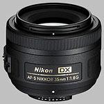 Nikkor AF-S 35mm f/1.8G DX lens.