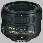 Nikkor AF-S 50mm f/1.8G lens.