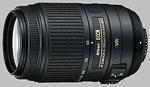 Nikon 55-300mm f/4.5-5.6G ED VR Nikkor lens.