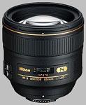 Nikkor 85mm f/1.4G AF-S lens.