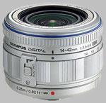 Olympus 14-42mm f/3.5-5.6 M.Zuiko lens.