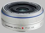 Olympus 17mm f/2.8 M.Zuiko Digital lens.