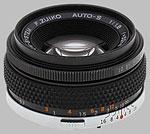 Olympus 50mm f/1.8 OM F.Zuiko lens.