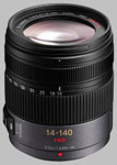 Panasonic Lumix Vario G 14-140mm f/4-5.8 HD OIS lens.