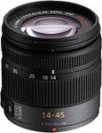 Panasonic  Lumix G Vario 14-45mm f/3.5-5.6 ASPH lens.