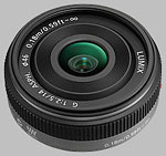 Panasonic 14mm f/2.5 ASPH LUMIX G lens.