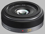 Panasonic 20mm f/1.7 ASPH LUMIX G lens.