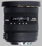 Sigma 10-20mm f/3.5 EX DC HSM lens.