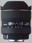 Sigma 12-24mm f/4.5-5.6 EX DG Aspherical HSM lens.