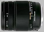Sigma 18-250mm f/3.5-6.3 OS HSM lens.