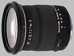 Sigma 18-50mm f/2.8 EX DC Macro lens.