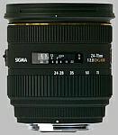 Sigma 24-70mm f/2.8 EX DG HSM lens.