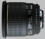 Sigma 24mm f/1.8 EX DG Aspherical Macro lens.