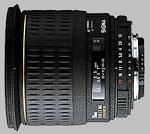Sigma 28mm f/1.8 EX DG Aspherical Macro lens.