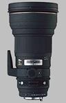 Sigma 300mm f/2.8 EX DG HSM APO lens.