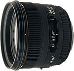 Sigma 50mm F1.4 EX DG HSM lens. Courtesy of Sigma Corporation.