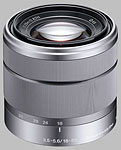 Sony E 18-55mm f/3.5-5.6 OSS lens.
