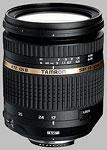 Tamron 17-50mm f/2.8 XR Di II VC LD Aspherical IF SP AF lens.
