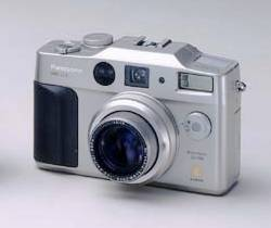 Panasonic Lumix DMC-LC5 digital camera. Courtesy of Panasonic.