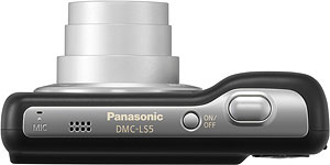 Panasonic's Lumix DMC-LS5 digital camera. Photo provided by Panasonic Consumer Electronics Co. Click for a bigger picture!