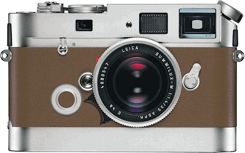 The LEICA M7 Edition 'Hermès'. Photo provided by Leica Camera AG. Click for a bigger picture!