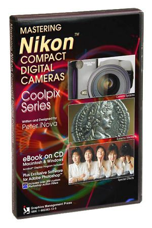 The 'Mastering Nikon Compact Digital Cameras v3.0' CD case. Courtesy of Peter iNova.
