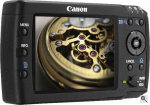 Canon's Media Storage M80 device. Courtesy of Canon, with modifications by Michael R. Tomkins. Click for a bigger picture!