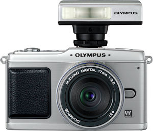 Olympus' FL-14 flash unit. Photo provided by Olympus Imaging America Inc. Click for a bigger picture!