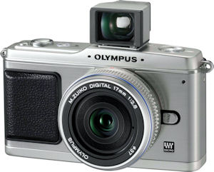 Olympus' VF-1 optical view finder. Photo provided by Olympus Imaging America Inc. Click for a bigger picture!